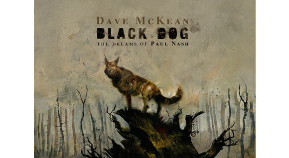 Black Dog by Dave McKean, Dark Horse Comics 2016