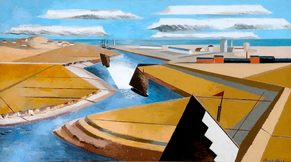 Paul Nash Exhibition, Laing Art Gallery, Newcastle, 2017