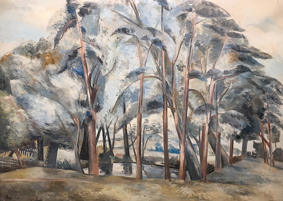 Paul Nash Pond in the Fields, Arborealists and Guests, Black Swan Arts, Frome