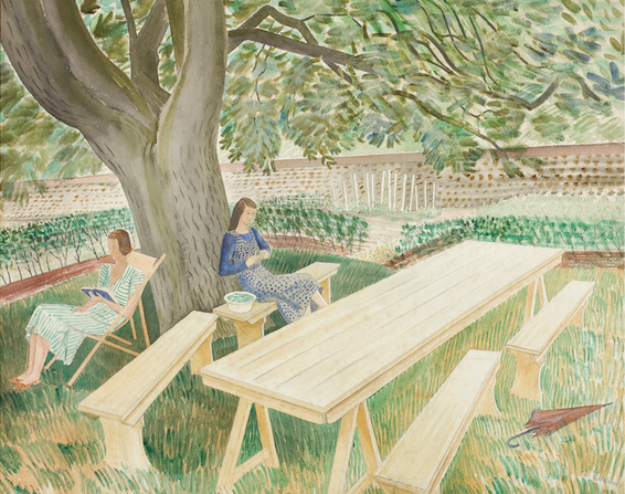 Ravilious & Co: The Pattern of Friendship, Towner Art Gallery, Eastbourne 2017