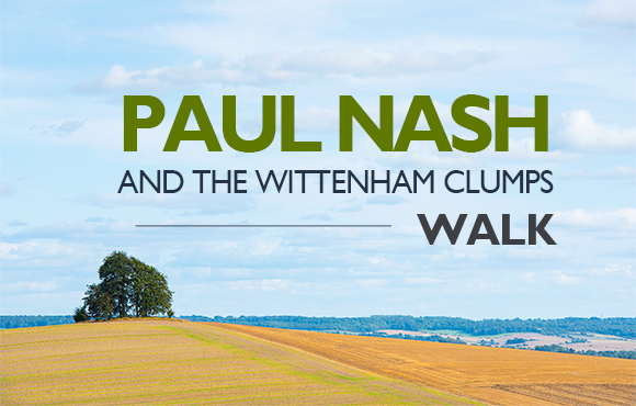 Paul Nash and Wittenham Clumps Walk 2019